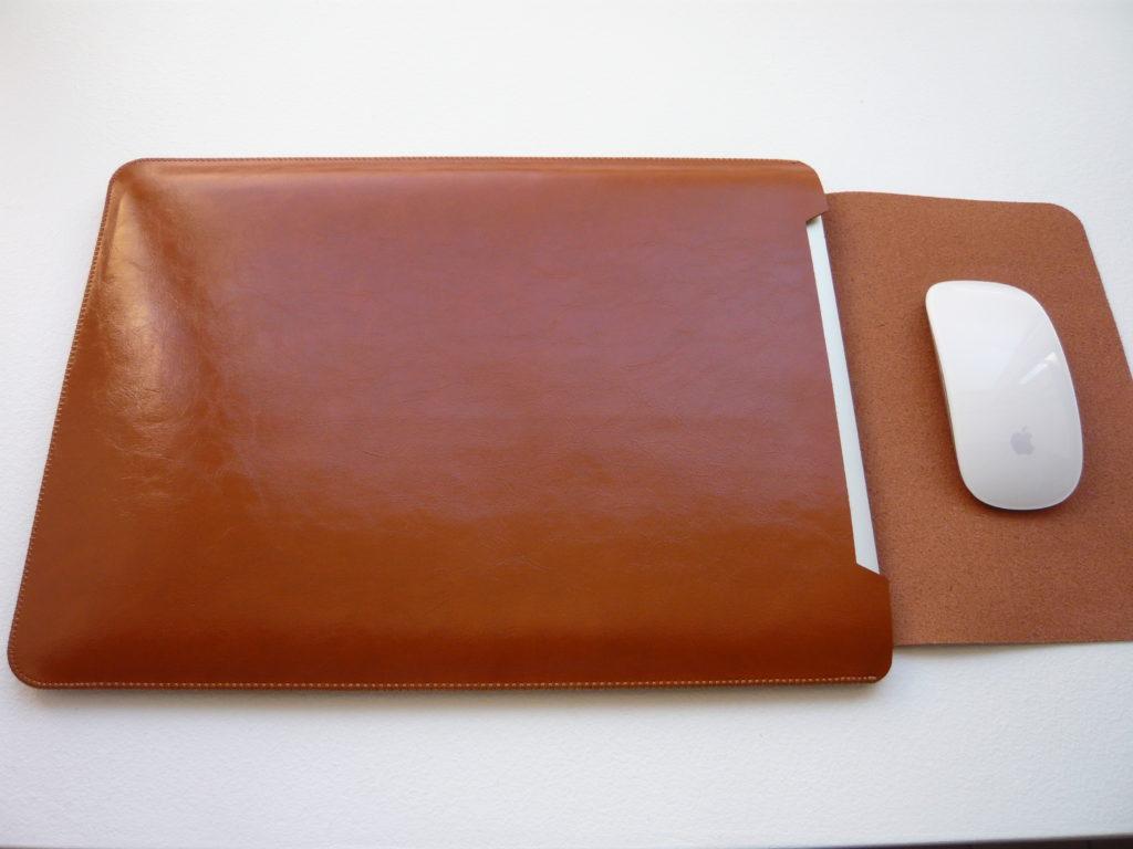 Dark Brown  læder sleeve til Macbook Retina-Air 13″