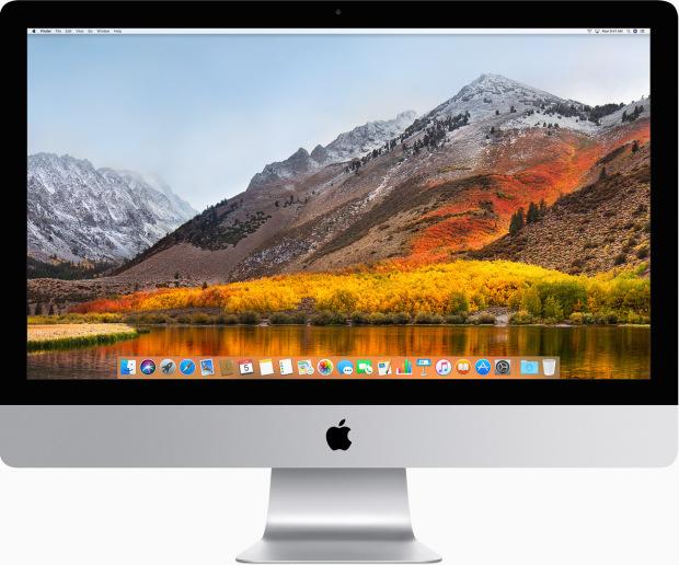 iMac 21,5″, medio 2010