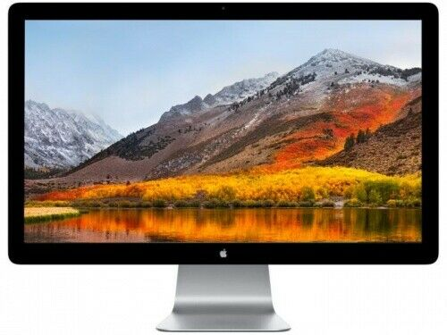 Apple 27″ Cinema Display LED Monitor