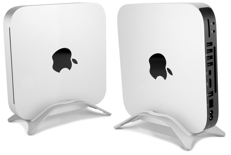 Desktop stand for Apple Mac mini