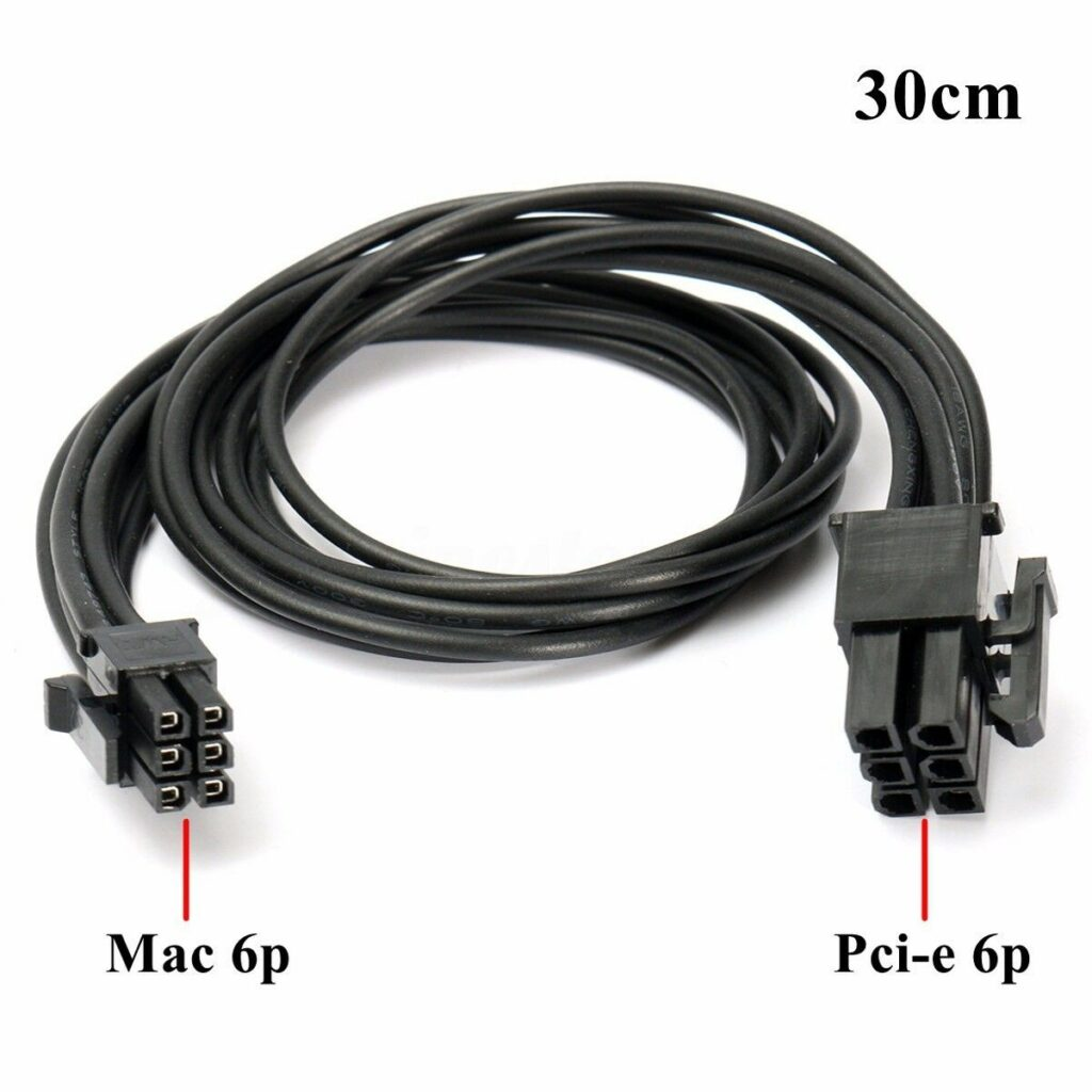 6 Pin To PCIE 6 Pin Video Card Power Cable