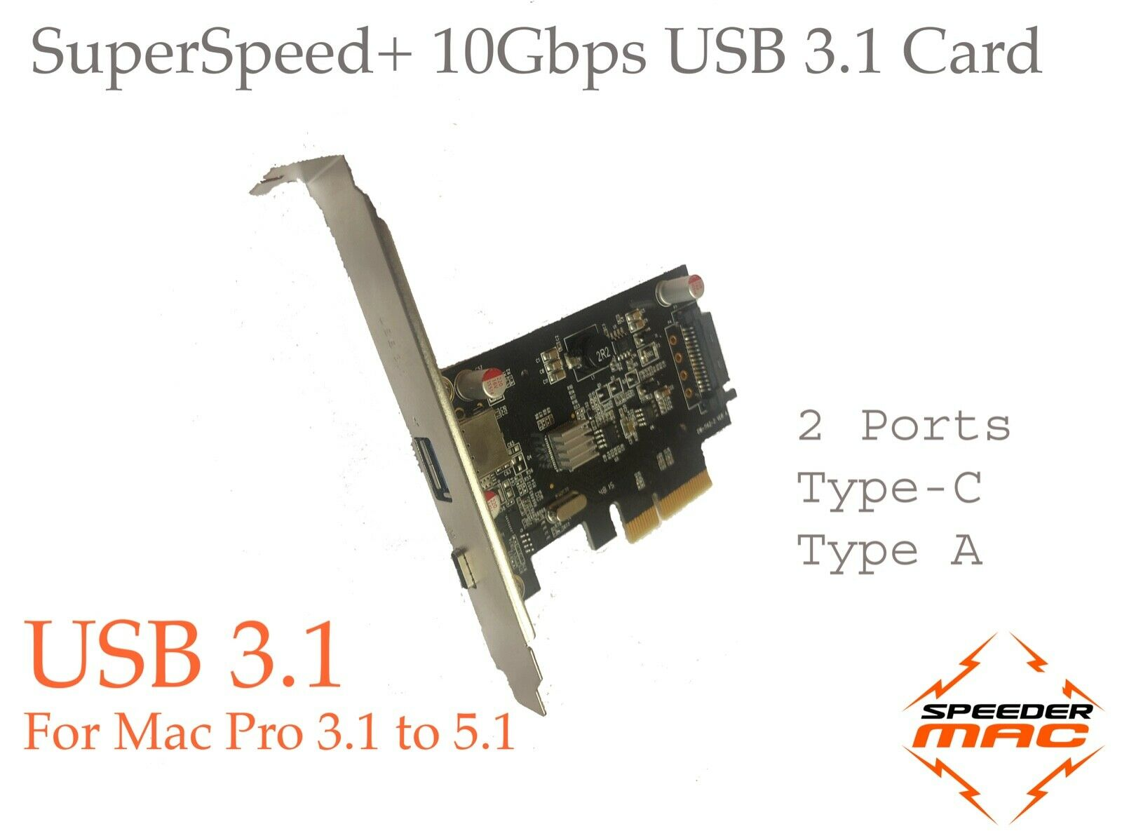 usb 3 usb c mac pro pcle