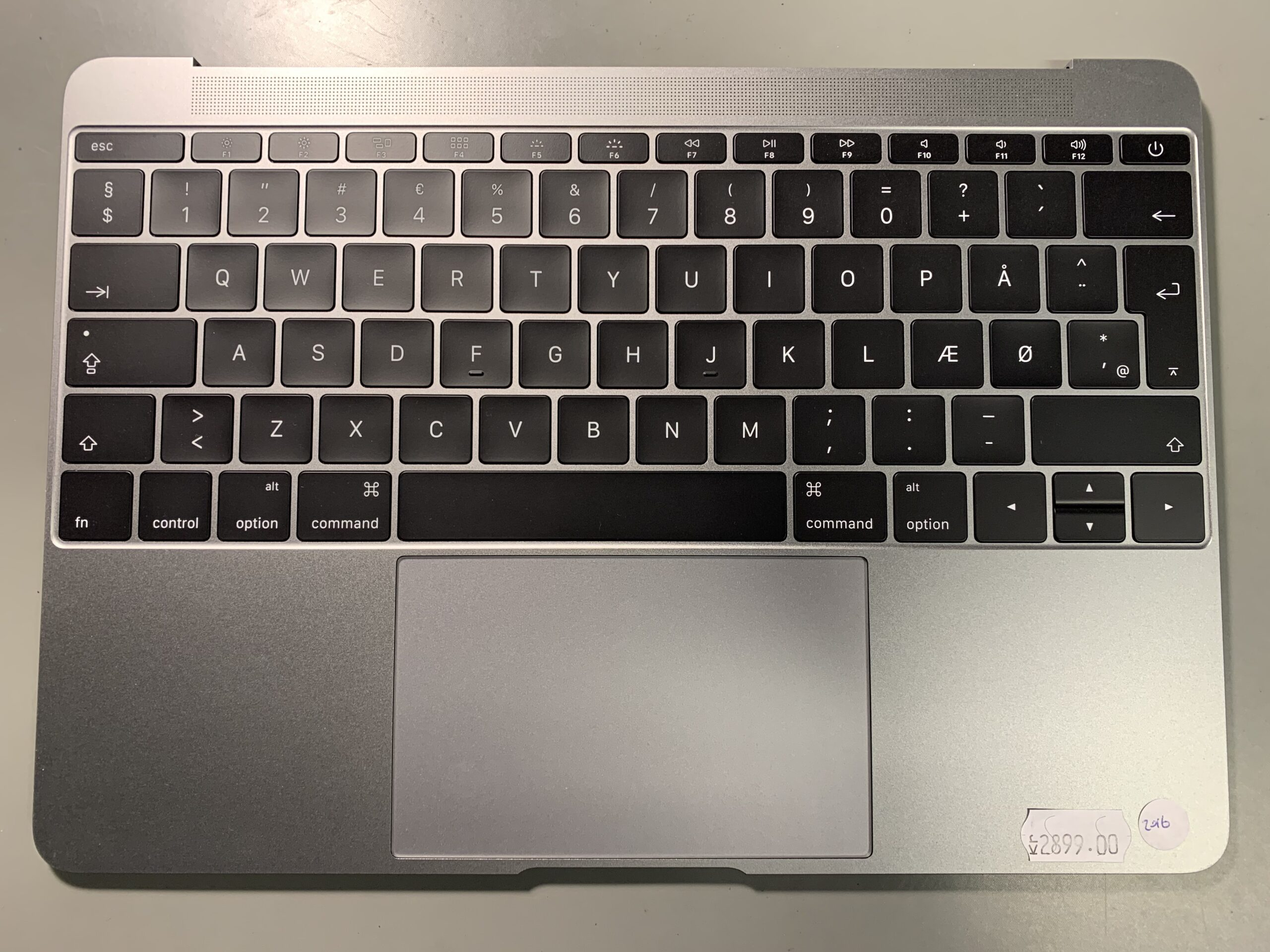 macbook 12 tastatur