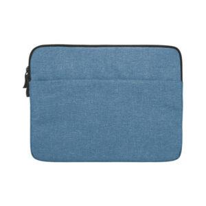 macbook sleeve blå
